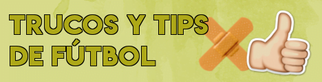 Trucos y consejos de fútbol. Resuelve tus dudas y problemas que pueden salir dentro del campo o fuera de él. ¡Tutoriales útiles!