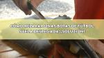 Cómo reparar unas botas de fútbol | Suela despegada: SOLUCIÓN