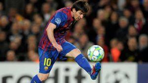 Messi Vaselina futbol