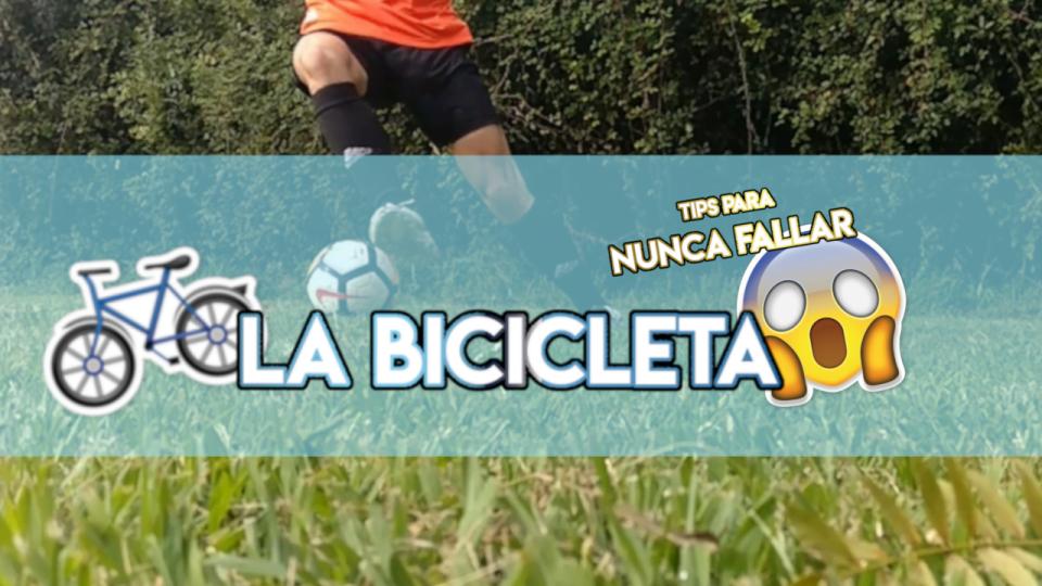 Cómo hacer la bicicleta en fútbol