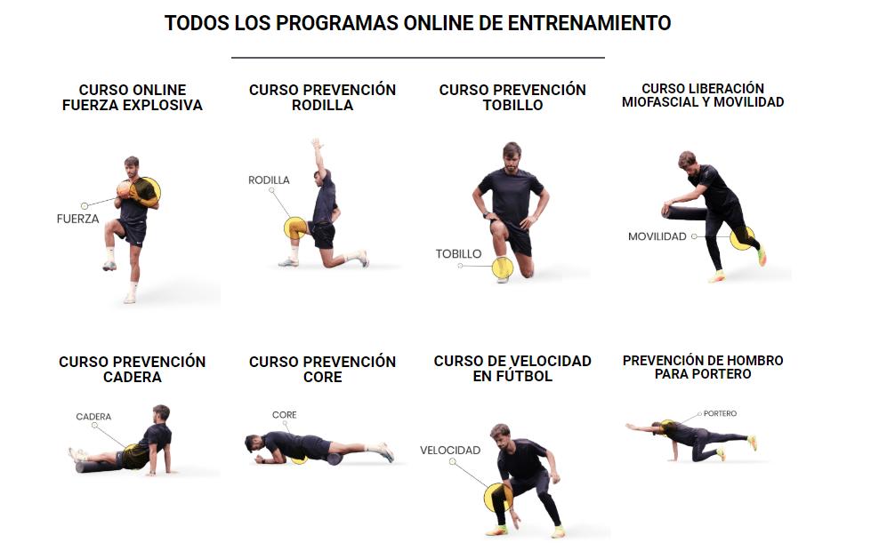Programas de entrenamiento EfficientFootball