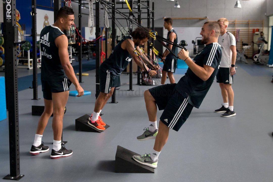 Rutina de gimnasio para futbolistas