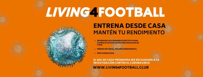 Promoción contra el Coronavirus Living4Football