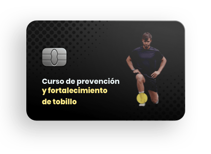 Curso online de prevención y fortalecimiento de tobillo
