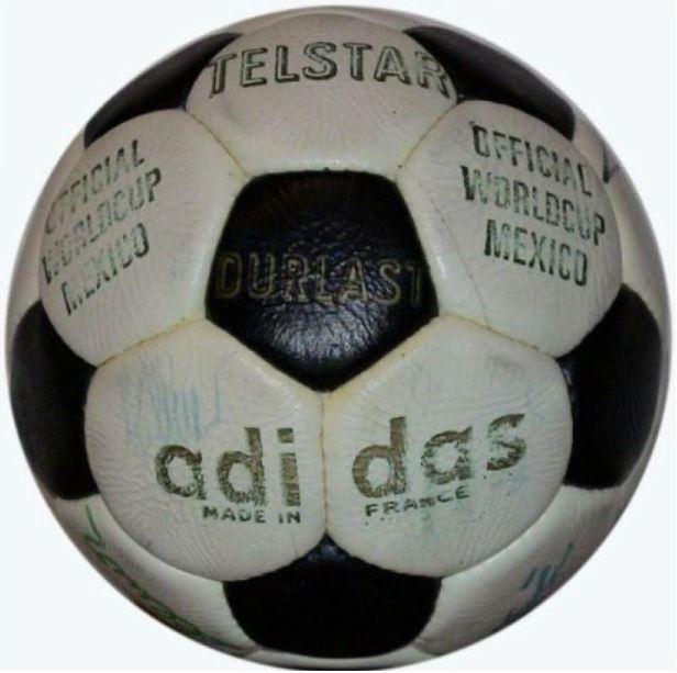 Balón de fútbol mundial méxico 1982