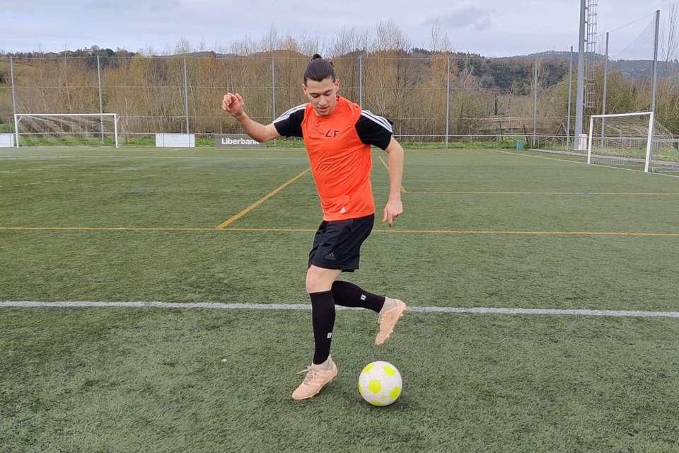 ejercicios de coordinación con balón para fútbol