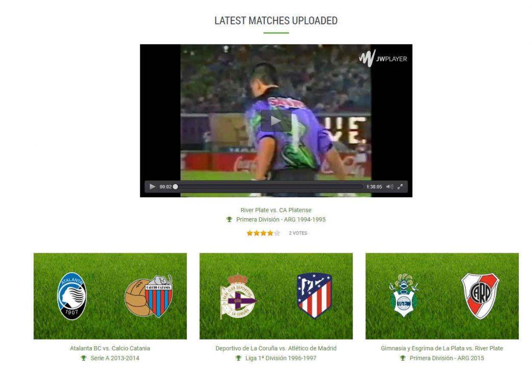 páginas de fútbol para ver partidos online gratis