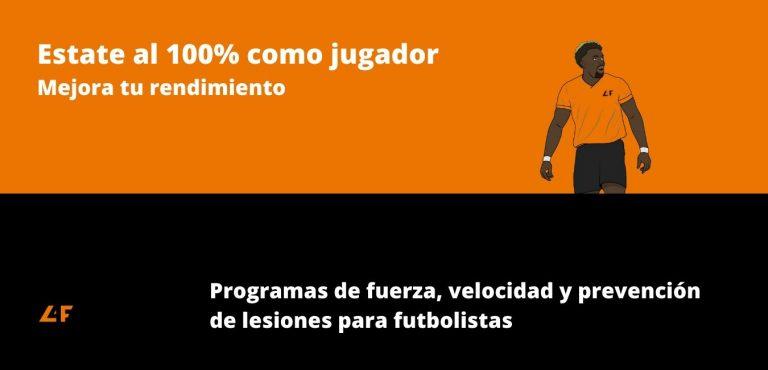 Programas de entrenamiento para futbolistas online