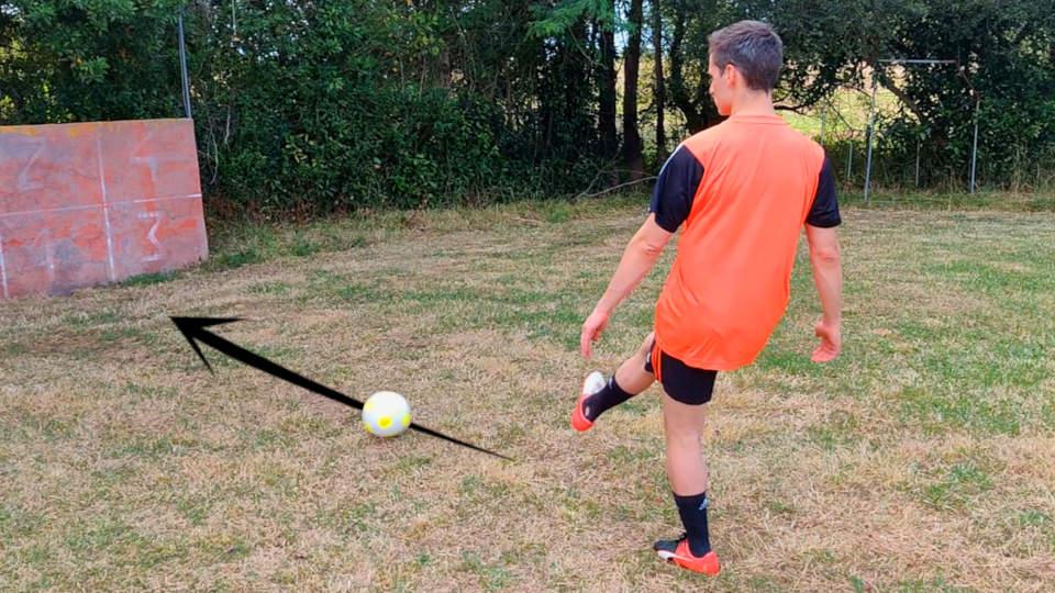 Tutorial del pase corto de fútbol
