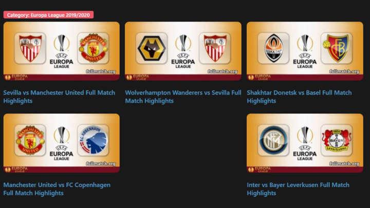 ver la europa league gratis