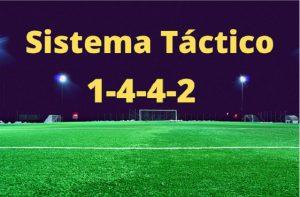 sistema táctico 1-4-4-2
